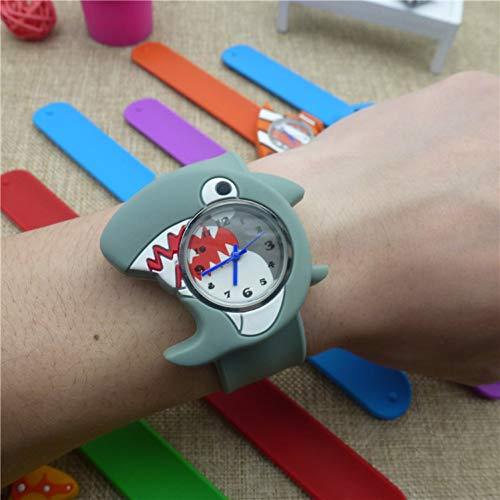 JUKGD Kinderuhr 3D Tiere Cartoon Kinder Armbanduhr Armband Babyuhr Uhr Uhren Für Mädchen Jungen Geschenke Kinder Uhren