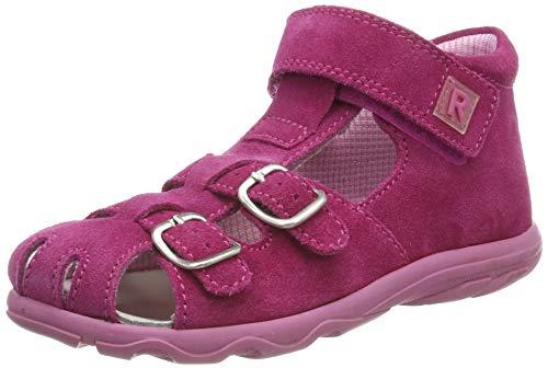 Richter Kinderschuhe Mädchen Terrino Geschlossene Sandalen, Pink (passion 3300), 26 EU
