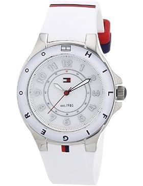 TOMMY HILFIGER Damen-Armbanduhr XS Analog Quarz Silikon 1781271