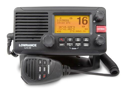Lowrance-Link-8-DSC-VHF-Marine-Radio-Black