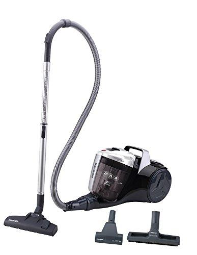 Hoover Breeze BR30PET - Aspirador trineo sin bolsa con filtro EPA, con accesorio especial para parquet y mascotas, filtros epa, 550 W, depósito 2L, color gris
