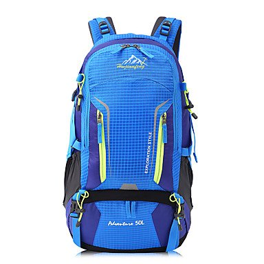 50 L Tourenrucksäcke/Rucksack Rucksack Camping & Wandern Klettern Multifunktions andere Orange