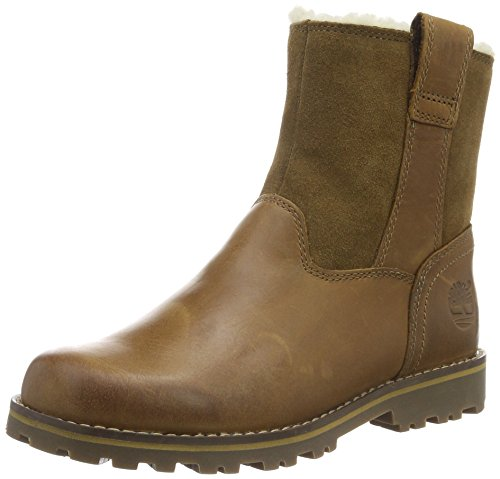 Timberland Kids Chestnut Ridge Warm-lined Pull-On Stiefel, Braun (Light Brown), 38 EU Timberland Ridge
