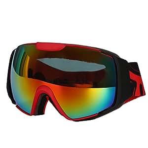 db98e19b927a North Wolf OTG Ski Goggles Over Glasses with Googles Case - Skiing ...