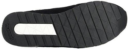 Hummel Reflex II Tonal, Scarpe da Ginnastica Basse Unisex-Adulto Nero (Black)