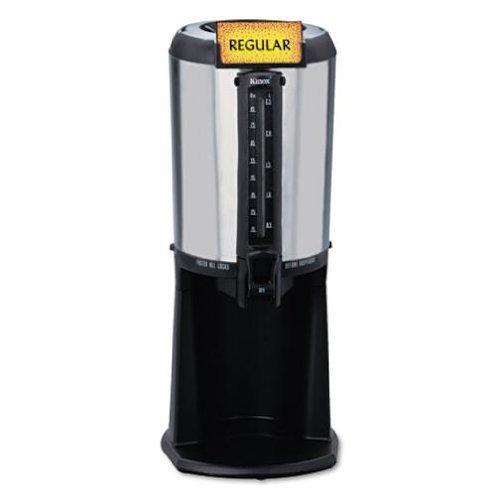 hormel-410225-thermal-beverage-dispenser-gravity-25-liter-stainless-steel-black-by-hormel