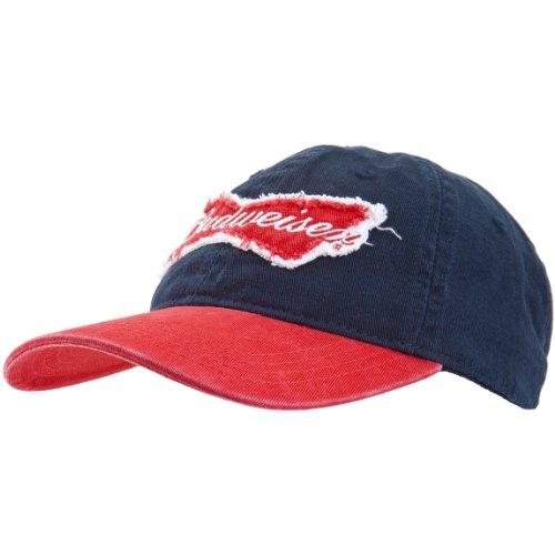 old-glory-unisex-budweiser-bow-tie-fliege-schleife-logo-verstellbares-basecap