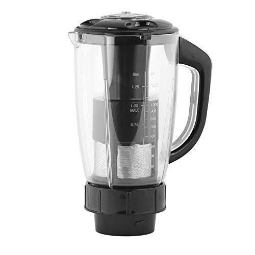 Rotomix Black Plastic Juicer Jar_1500 ml