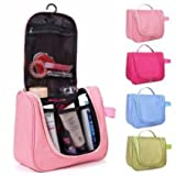 PETRICE Toiletry Bag For Men & Women Hanging Toiletries Kit For Makeup, Cosmetic, Shaving, Travel Accessories Organizer (Colour May Vary)