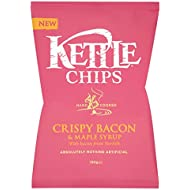 Kettle Crispy Bacon and Maple Syrup Potato Chips, 150 g