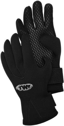 TWF - Guantes de buceo, color negro, talla M