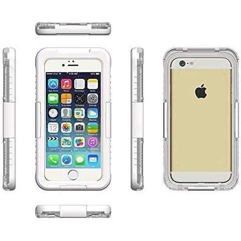 Mondpalast@ blanco Funda carcasa acuatica sumergible para Apple iphone 6 plus 5.5