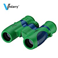 Vanstarry Optics Shock Proof 8x21 Kids Binoculars Set - Bird Watching - Educational Learning - Hunting - Hiking - Birthday Presents - Gifts for Children - Outdoor Play - Toys for Boys and Girls