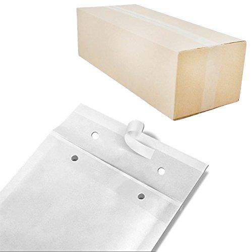 100 Luftpolstertaschen weiss Gr. G7 (250x350mm) DIN A4+ C4 Luftpolsterumschläge Luftpolsterversandtaschen
