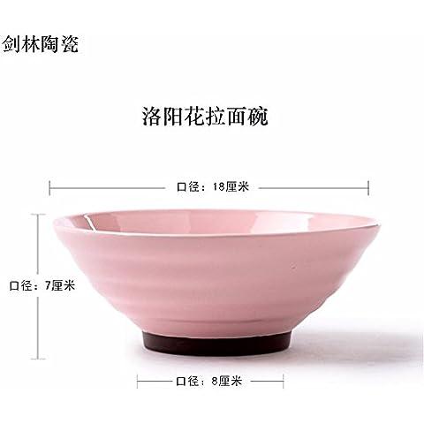Creative vasellame di ceramica di zuppa , Home , Singola ,18*7*8cm,b coppa rotonda - Forcella Coppa
