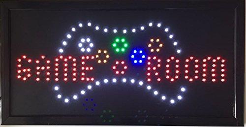 CHENXI Game Room/Billard/GIOCO Poker/Golf Sport Entertainment LED Business Store Neon Display 48,3x 25,4cm (48x 25cm) Innenbereich Modern 48 X 25 CM Golf-01
