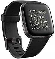 Fitbit Versa 2 (NFC), Health and Fitness Smartwatch with Heart Rate, Music, Sleep and Swim Tracking, One Size