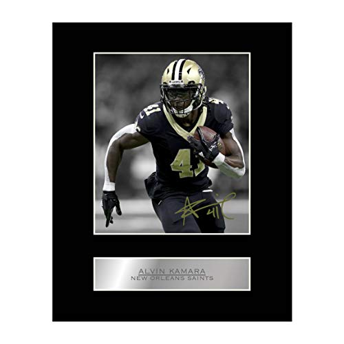 55a5dc673f7 Alvin Kamara Signed Mounted Photo Display New Orleans Saints NFL  Autographed Gift Picture Print