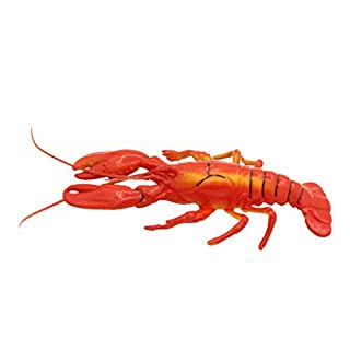 D DOLITY Realistic Lifelike Artificial Seafood kitchen Fake Display Food Decor - Lobster, as described