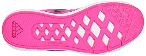 adidas Niraya, Scarpe da Corsa Donna Multicolore (Rosa / Negro / Blanco (Rosimp / Negbas / Blanco))