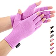 Duerer Arthritis Gloves, guantes de compresión mujeres y hombres alivian el dolor de reumatoide, RSI, túnel ca