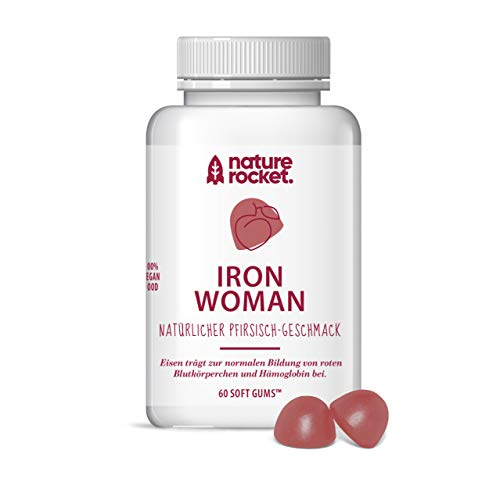 IRON WOMAN | Vegane Eisen Softgums für