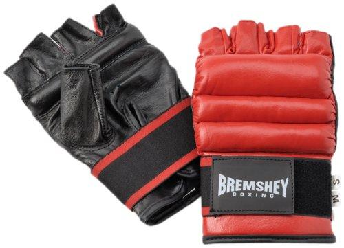 Bremshey Ballhandschuhe Fitness, schwarz / rot, S/M, 08BRSBO080