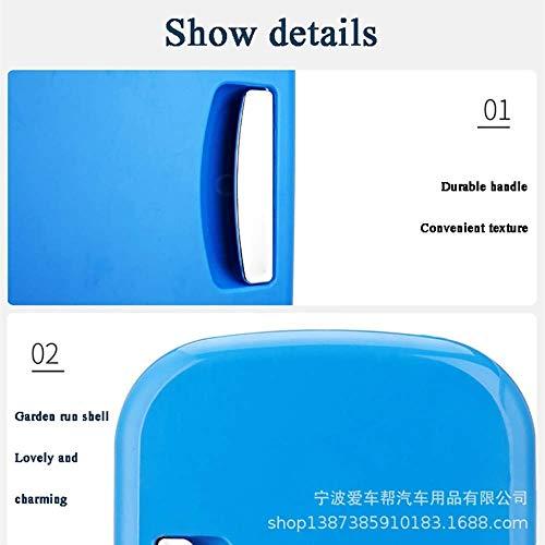 Adhw Mini tragbarer kompakter persönlicher Kühlschrank, kühlt und heizt, 4 Liter Fassungsvermögen, kühlt 6 12-oz-Dosen, 100% freonfrei und umweltfreundlich, inklusive Stecker für die Steckdose u -