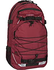 FORVERT Backpack Laptop Louis, Burgundy, 51 x 29.5 x 15 cm, 26.5 Liter, 880192