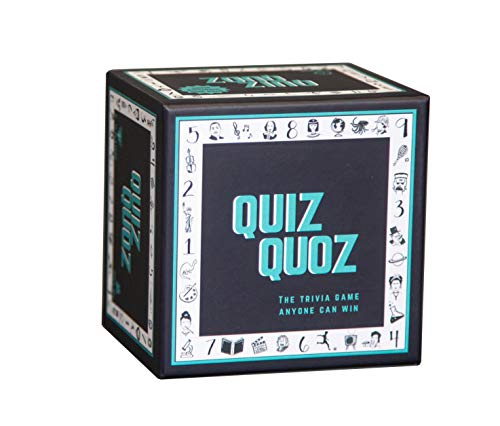 Quiz Quoz: The Trivia Board Game for Everyone