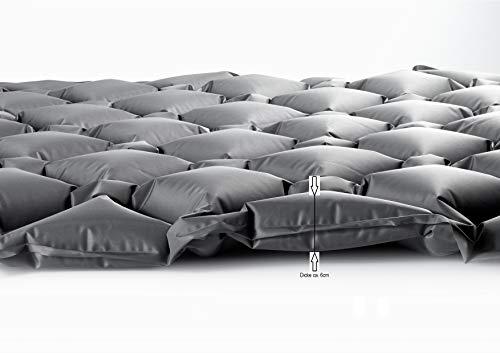 SCHWOOB Isomatte Luftmatte Schlafsack, aufblasbare leichte Camping Matte Matratze Wasserdicht Air Schlafmatte für zu Hause Zelten Wandern Rucksackreisen Camping Reisen Festival - 5