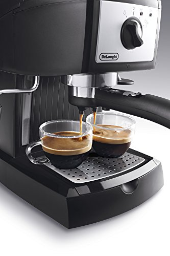 De'Longhi Traditional Pump Espresso Coffee Machine EC156.B