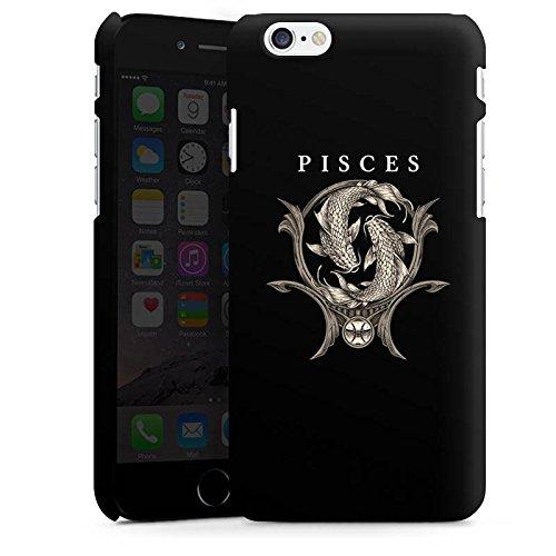 Apple iPhone X Silikon Hülle Case Schutzhülle Fische Sternzeichen Astrologie Premium Case matt
