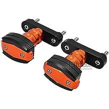 BJ mundial Top Calidad CNC Aluminio 2pcs motocicleta Izquierda y Derecha Frame Sliders Crash Protector Caída Protección para KTM Duke 390y # xFF08; 13–16y # xFF09;, Duke 125/200