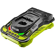 "Ryobi RC18150 18 V 2.0 A ""One+ 5.0A"" Battery Charger - Hyper Green/Grey"