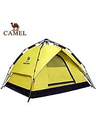 engranaje al aire libre Camel 3-4 personas acampando al aire libre apertura automática lluvia carpa hidráulico velocidad de tres segundos