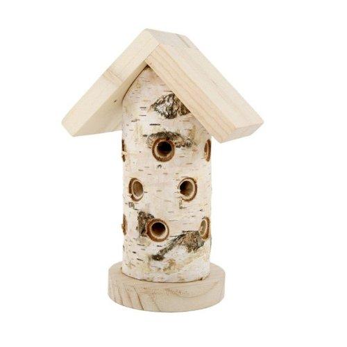 #Insektenhotel für Marienkäfer aus Holz 18,5 cm#