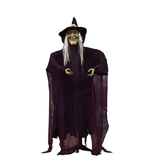 Haunted Haus-Dress up Hexe Geist Magic Prop Bar Dekoration Geist hängen Scary Ghost Lieferungen ()
