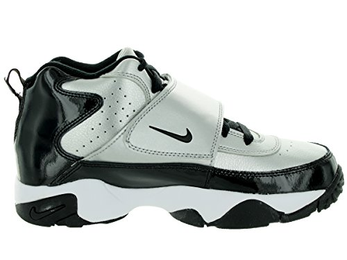 Nike Air Mission Black Silver Kids Trainers - Black Silver
