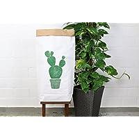 Papiersack Paperbag urban jungle print *Kaktus* Aufbewahrung