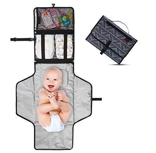 Kit cambiador de viaje chaging pad de Crystal Baby Smile