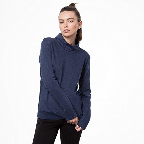 THOKKTHOKK Damen Sweatshirt Dunkelblau Bio Fair, Größe:XL - 6