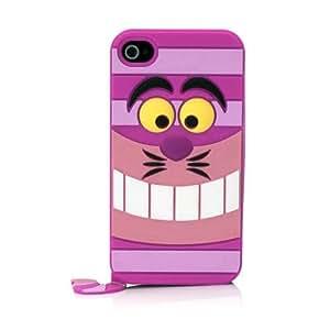 """DISNEY Coque souple """"Le Chafouin"""" rose pour iPhone 4/4S"""