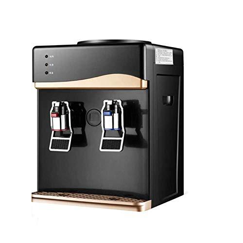 H&RB Heiße/Kalte Top-Beladung Gegen Wasser-Kühler Spender, Heizung Und Energiespar Büro Einzel Kühlwasser Spender, EIS/Warm, 27 * 26 * 38CM [Energieklasse A] - Automatische Einzel-heizung