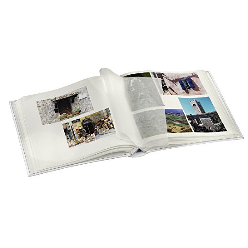 comprare on line Hama La Fleur Black photo album - photo albums (Black, 100 sheets, 10 x 15, 400 sheets, 300 mm, 300 mm) prezzo