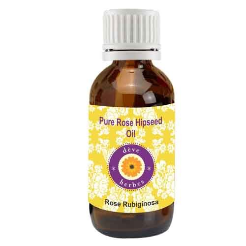 dève herbes Pure Rosehip Seed Oil 100% Natural, Cold Pressed & Undiluted