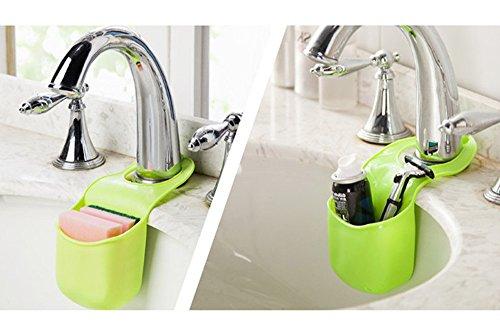 kingkor-creative-folding-silicone-hanging-kitchen-bathroom-storage-bag-boxes-hangers-green