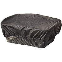 Trockolino - Funda impermeable para cesta de bicicleta, color negro