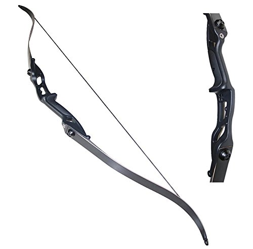 toparchery-40lbs-archery-takedown-recurve-bow-hunting-longbow-aluminum-alloy-riser