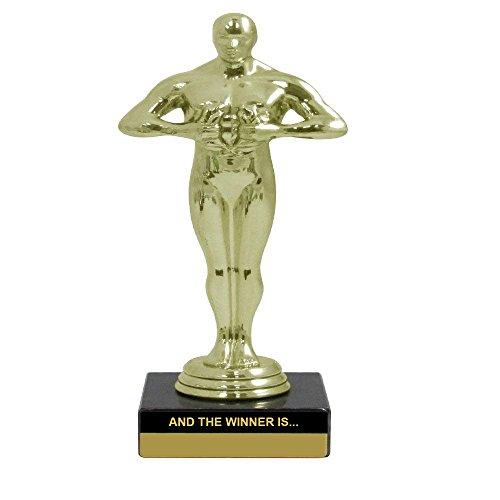 Rockin Trophy. und der Gewinner ist Trophy-Souvenir Geschenk 15,2cm Zoll Trophy-Movie Award Rot Teppich Theater